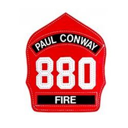 Picture of Paul Conway Helmet Shield Front